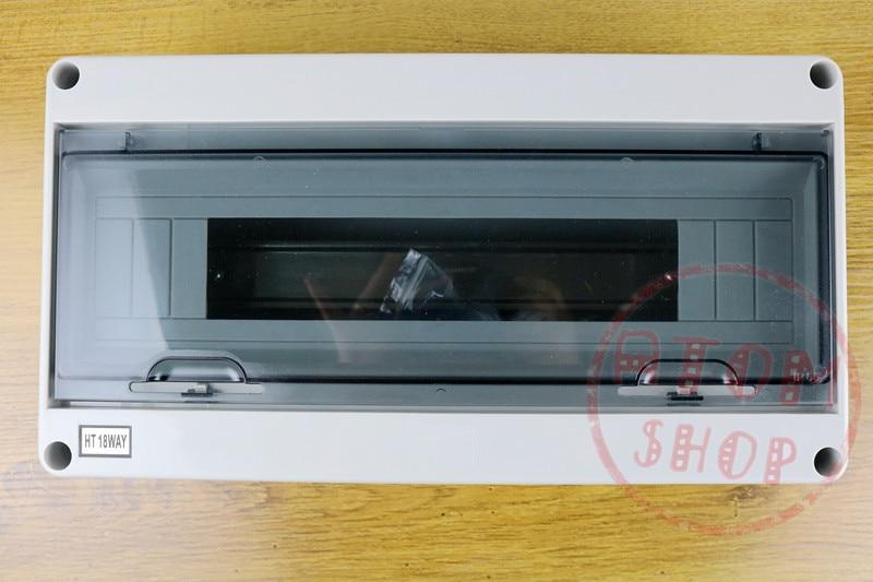 HT-18WAY 365*195*110 Waterproof Power Distribution Box Home switch box saipwell most popular ip65 ht 5 ways waterproof electrical distribution box 150 110 90mm