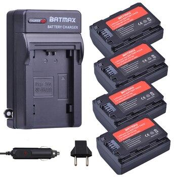 Batmax 4Pack 2280mAh NP-FZ100 NPFZ100 NP FZ100 Battery +Car Charger for Sony Alpha9,Sony A9,Sony Alpha9R,Sony A9R Cameras фото