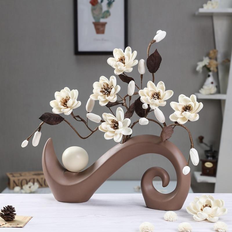 Китайский Керамика ваза Свадебные украшения дома Интимные аксессуары