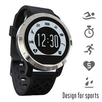 2016 Original F69 Pedometer Heart Rate Monitor Calories IP68 Digital Watch Fitness For Outdoor Wristwatches Sports