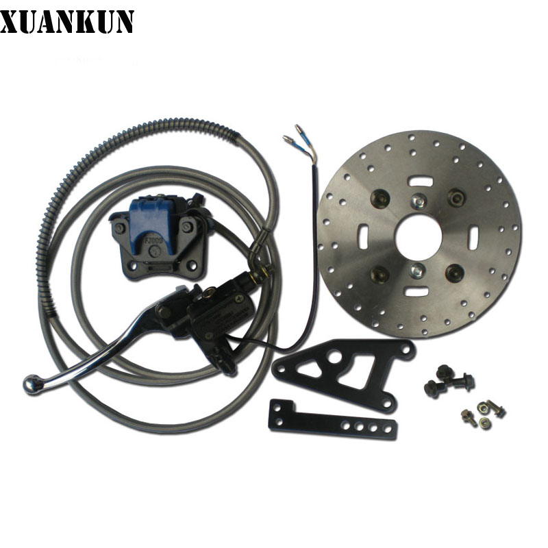 где купить XUANKUN Electric Car Modified Disc Brake / Hydraulic Rear Disc Brake / Hydraulic Brake / Rear Drum Disc Brake 110 по лучшей цене