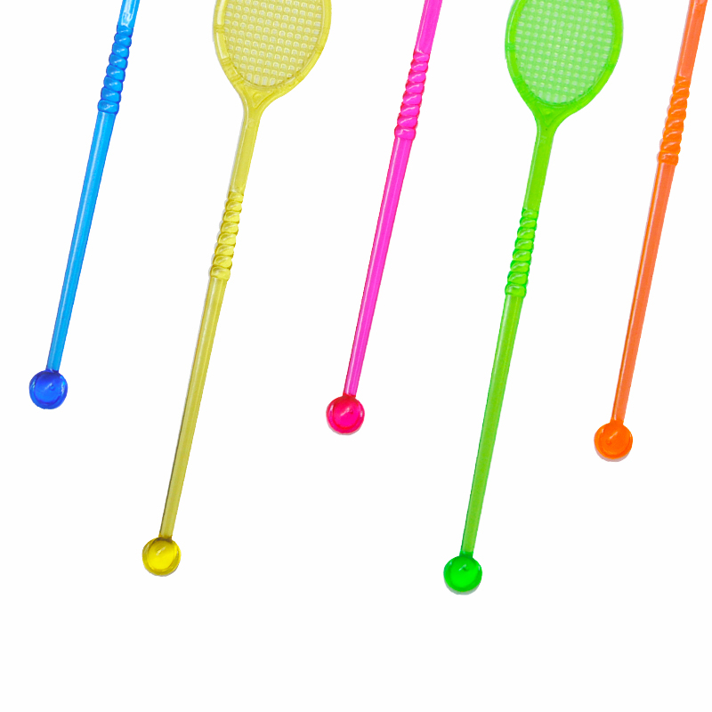 50pcs Tennis Racket Cocktail Swizzle Sticks Drink Stirrer Coffee Muddler  Puddler Birthday Party Suppliers Bar KTV Accessory-in Cocktail Picks from  Home ... 5ef07962487d2