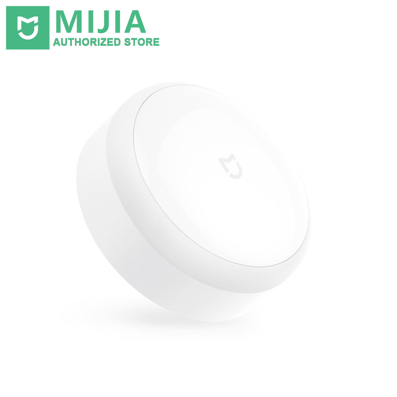 Original Xiaomi Mi Mijia LED Motion Induction Activated Night Light Infrared Remote Control Body Sensor For Xiaomi Smart Home