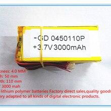 Ньюман T7 имеет P7 N7 M7 N18 tablet 4050110 3,7 V аккумулятор 3000 мАч