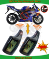 promotional 2 way motorcycle security alarm  system,remote anti-hijacking protection,remote start stop engine,mute mode