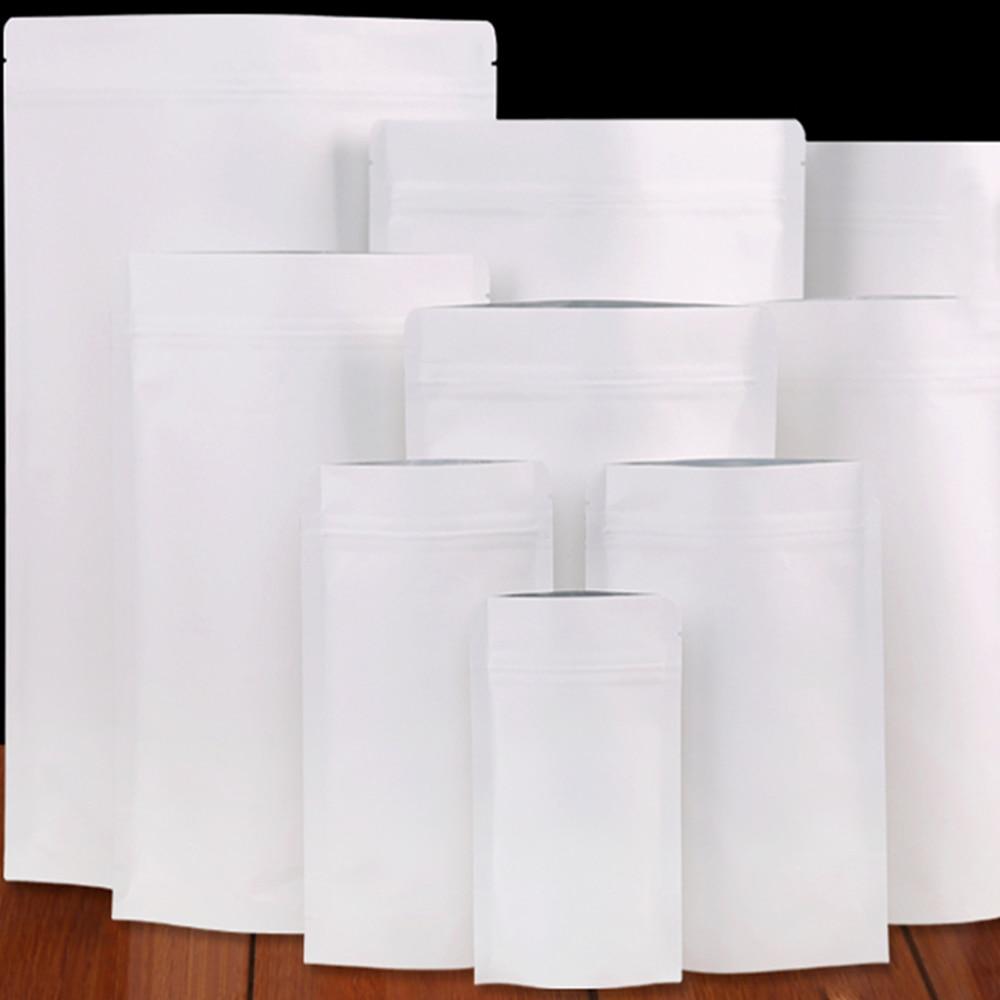 150 հատ / շատ սպիտակ Kraft թուղթ ալյումինե - Պահեստավորման եւ կազմակերպումը ի տան
