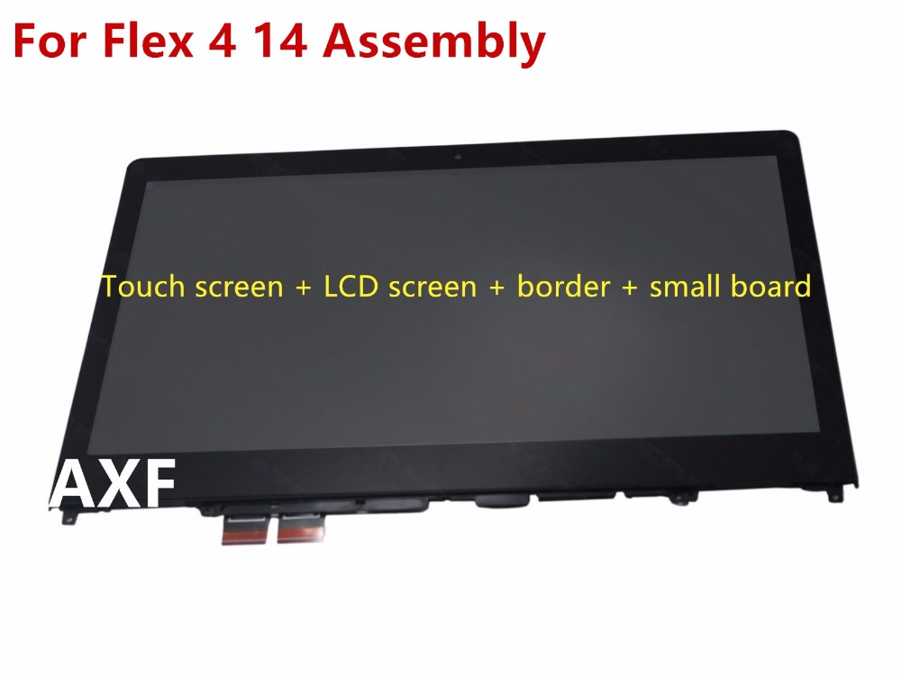 For -Flex-4-14-14-034-FHD-LED-LCD-Touch-Screen-Digitizer-Assembly-GLass-Bezel rhinowalk 10l 100% waterproof bike saddle bag seat bike mountain bike accessories