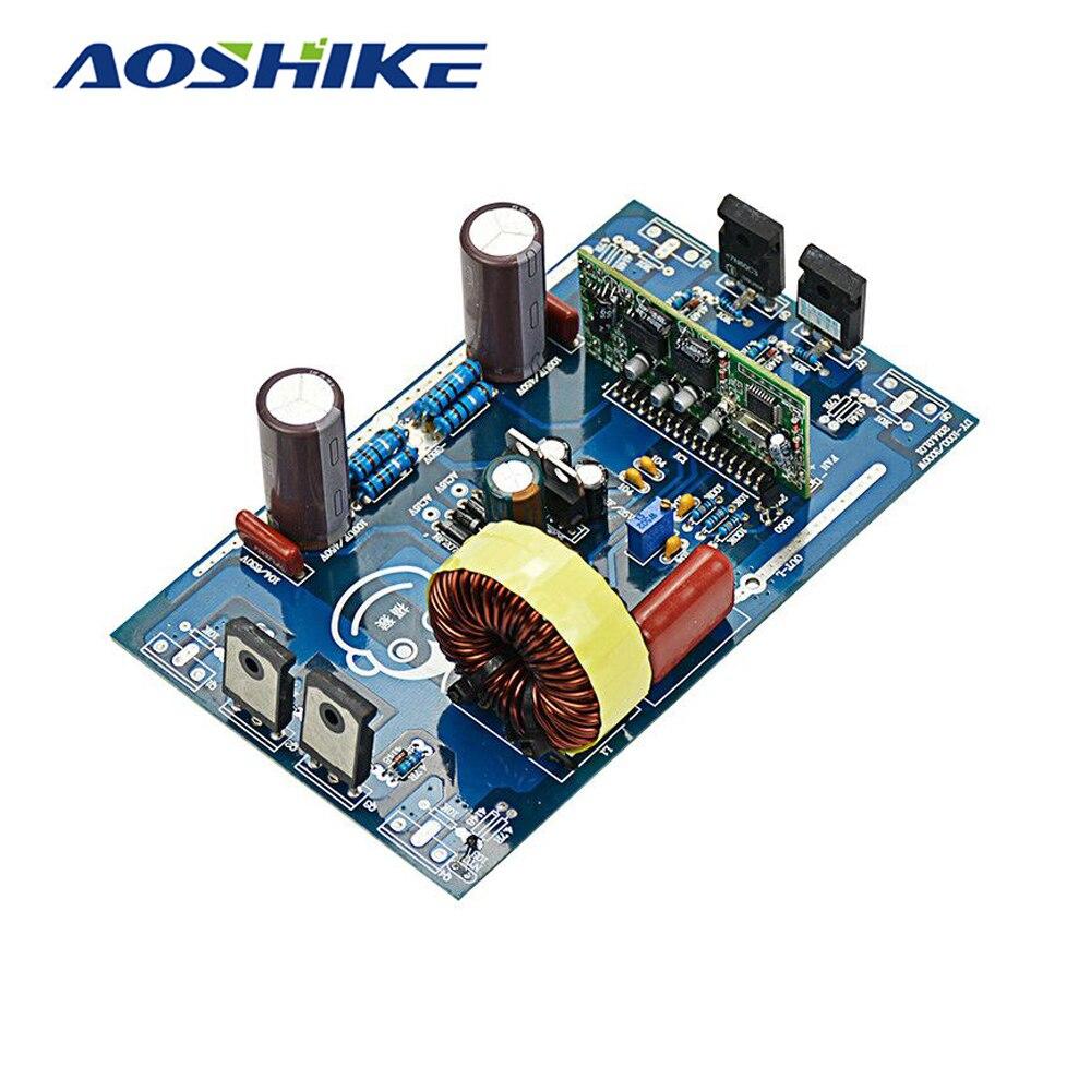 Aoshike 2000 Вт Чистая синусоида Инвертор Мощность доска Post синусоида Усилители домашние закончил доска