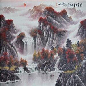 Beibehang duże niestandardowe tapety ciężki kolor malarstwo ma długą historię sztuka tło malowidłami dla fototapeta