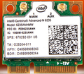 Intel Dual Band 6235AN 6235 622ANHMW SPS: 670292-001 300 Мбит + BT4.0 Половина Mini PCI-e Беспроводной Карты для HP 2710 p 2570 P 8570 P 6740b 6570b
