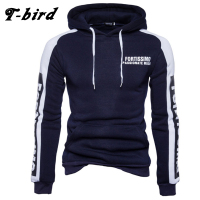T Bird 2017 Hoodies Men Letter Printing Men Hip Hop Sweatshirt Winter Fashion Brand Hoodie Men