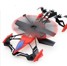 Mini rc Dron with AIR-GROUND radio wireless electric remote control helicopter quadcopter quad copter toys