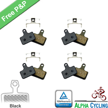 где купить Bicycle Brake Pads for SHIMANO  Ultegra R8070, RS805, RS505, RS405 Road Hydraulic Disc Brake, 4 Pairs, Black Resin дешево