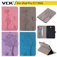 VCK Pattern TPU Flip Leather For Apple IPad Pro 9 7 2016 Case Stand Ultra Thin