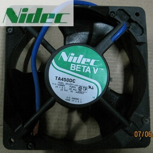 NIDEC 120*120*38MM 12CM 120*MM 12*12CM 12038 24V 0.28A industrial control inverter fan B31257-68 nidec d12e 12ps2 01b 12038 120mm 12cm dc 12v 1 70a 12 cooling fan server inverter case cooler