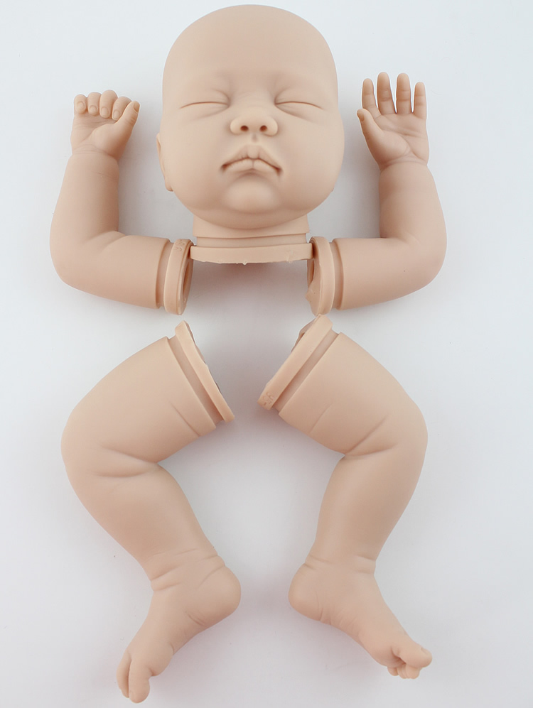 ФОТО Factory direct export reborn baby doll simulation model DIY handmade doll mold