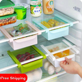 Refrigerator Preservation Separator Layer Multi-purpose Storage Rack 2 Pieces/Lot Classification Refrigerator Drawer Storage Box