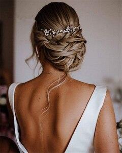 Image 2 - Платье для свадьбы SoDigne, белое/цвета слоновой кости, с бантом, без рукавов, на молнии, с открытой спинкой, на заказ, 2019