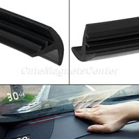Mtsooning 1 6m Soundproof 18mm Noise Insulation Anti Dust Sealing Strips Trim EDPM For Car Dashboard