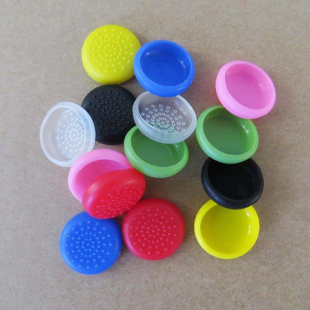 1000pcs/Lot 8 colors TPU thumbstick joystick Caps cover grips skin for ps3 ps4 XBOX 360 WII Wiiu joysticker cover
