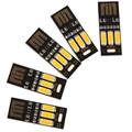 Sales 10pcs/lot Big Sale! Mini 5 Pcs Soshine USB Power Night Light with 3 x LEDs Portable and Easy to Carry