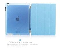 Case for iPad 2 iPad 3 iPad 4 YRSKV Separate PU leather Smart Auto Sleep Wake + Hard PC Back Case for iPad 2/3/4 (China)