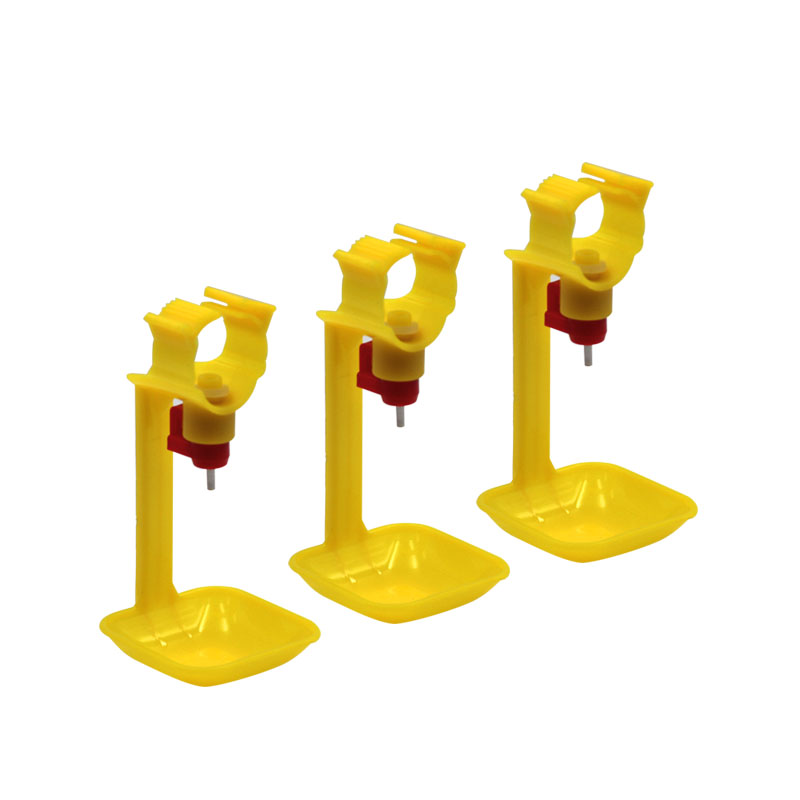 160 Pcs Poultry Hanging Cups Chicken Water Feeder Drinking Cups Automatic Chicken Water Nipple Drinker Nipple Water Feeding