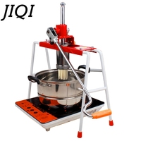 Home Stainless steel noddles maker manual pasta noodles Pressing making machine cutter household 4 Interchangeable Pasta Plates