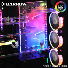 Barrow Acrylic Board as Water Channel use for CORSAIR 1000D Computer Case use for Both CPU and GPU Block RGB to 5V 3PIN Header все цены
