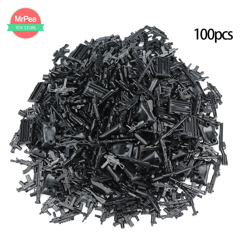 100pcs Military SWAT Police Gun Weapons Pack Army Soldiers Building Blocks MOC Arms City Compatible With LegoINGly Weapon Series-in Blocks from Toys & Hobbies on Aliexpress.com | Alibaba Group
