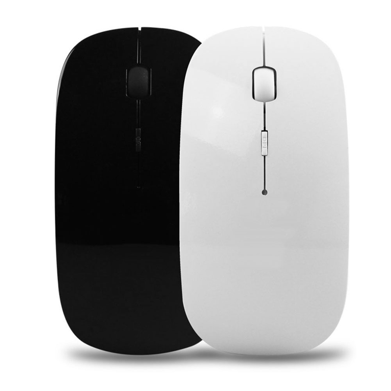 USB Rechargeable Mouse Wireless Silent Mute Optical Mouse Laptop Computer 2.4G