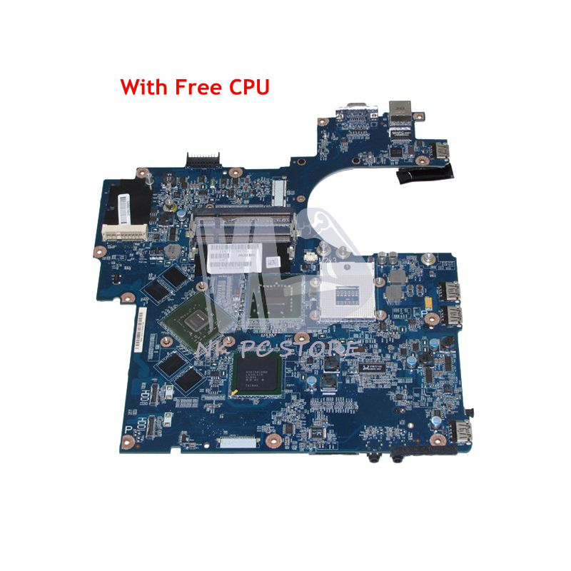 NOKOTION For Dell Vostro 1710 Laptop Motherboard JAL60 LA-4131P CN-0D816K 0D816K 965PM DDR2 8600M GPU Free CPU nokotion brand new qcl00 la 8241p cn 06d5dg 06d5dg 6d5dg for dell inspiron 15r 5520 laptop motherboard hd7670m 1gb graphics
