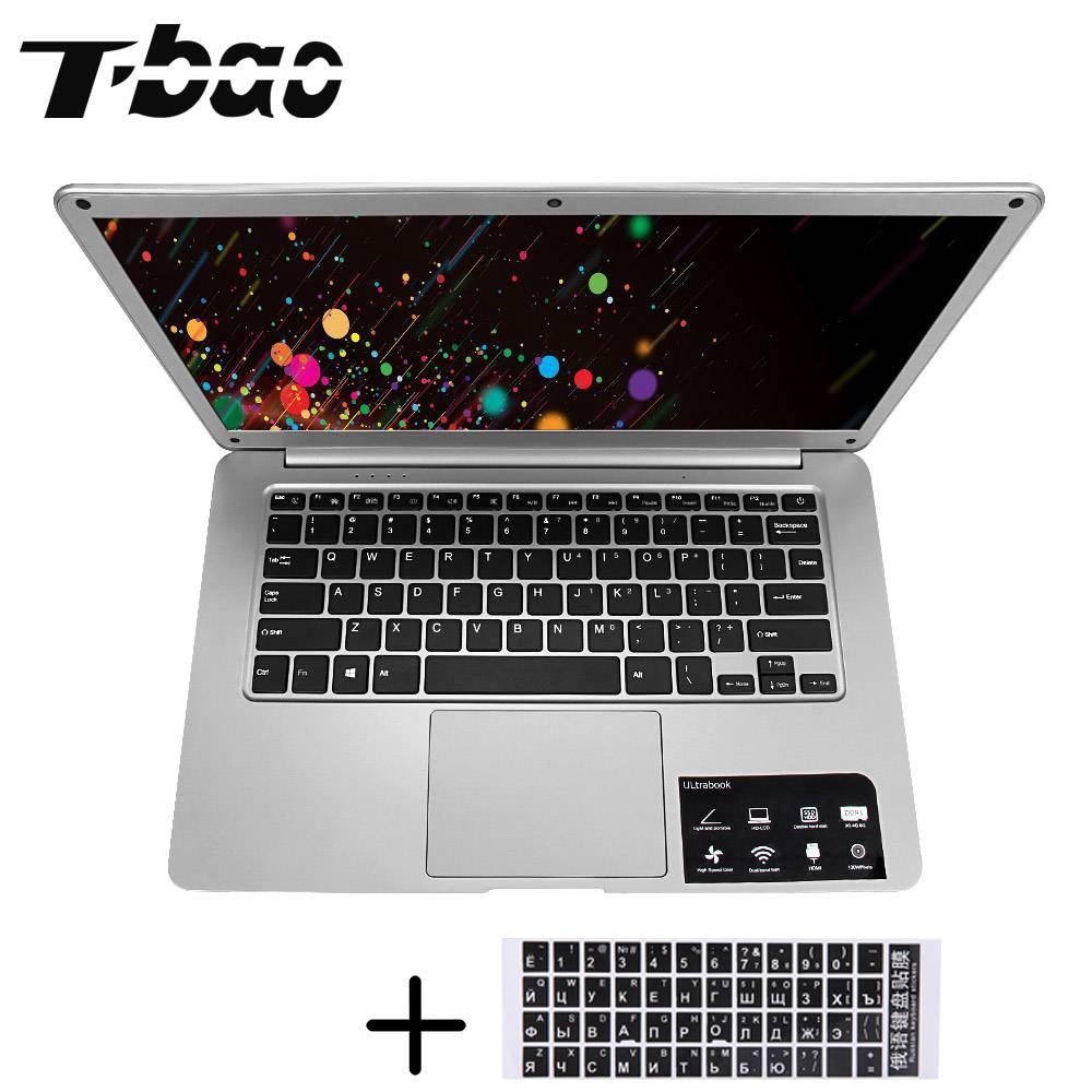 14.1 дюймов T-Бао tbook Pro Ноутбуки Тетрадь 4 ГБ + 64 ГБ 1080 P Экран Bluetooth 4.0 Intel cherry Trail Atom x5-z8350 Ноутбуки Тетрадь