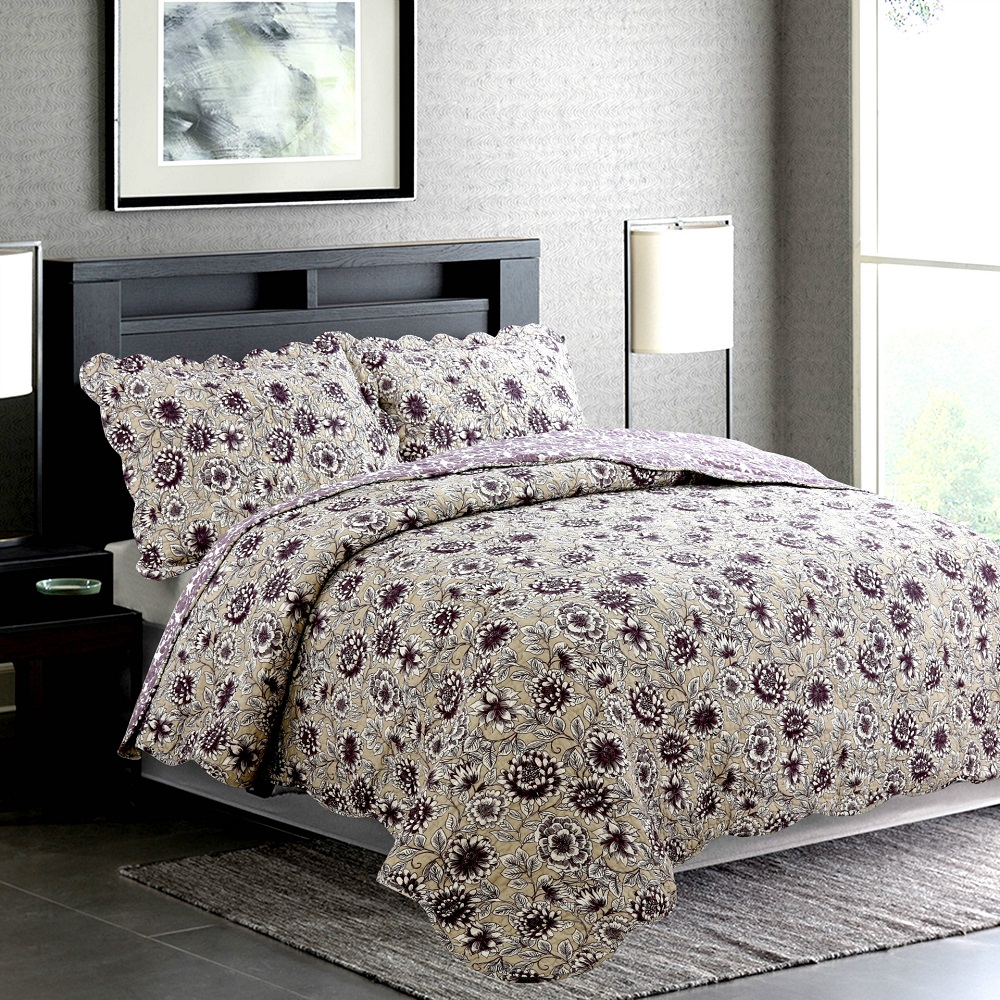 Quilted bedspread on the bed: especially the choice and tailoring do-it-yourself 11