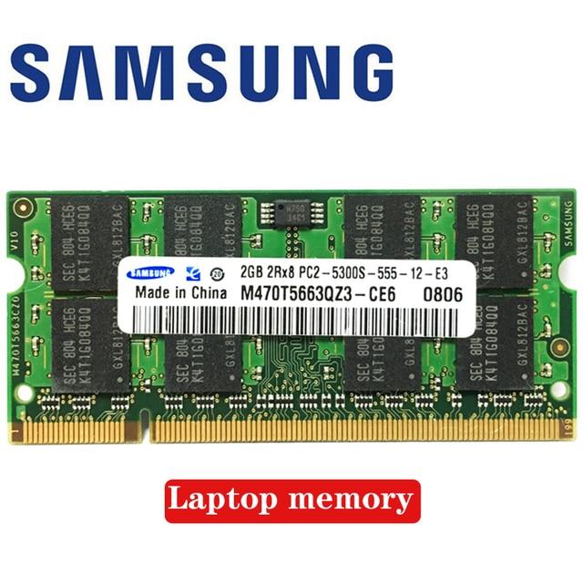 Laptop Notebook 1GB 2GB  1G 2G  PC2 5300S 6400S  DDR2 667 800 667MHZ 800MHZ  Module  ECC  Laptop Notebook  memory RAM