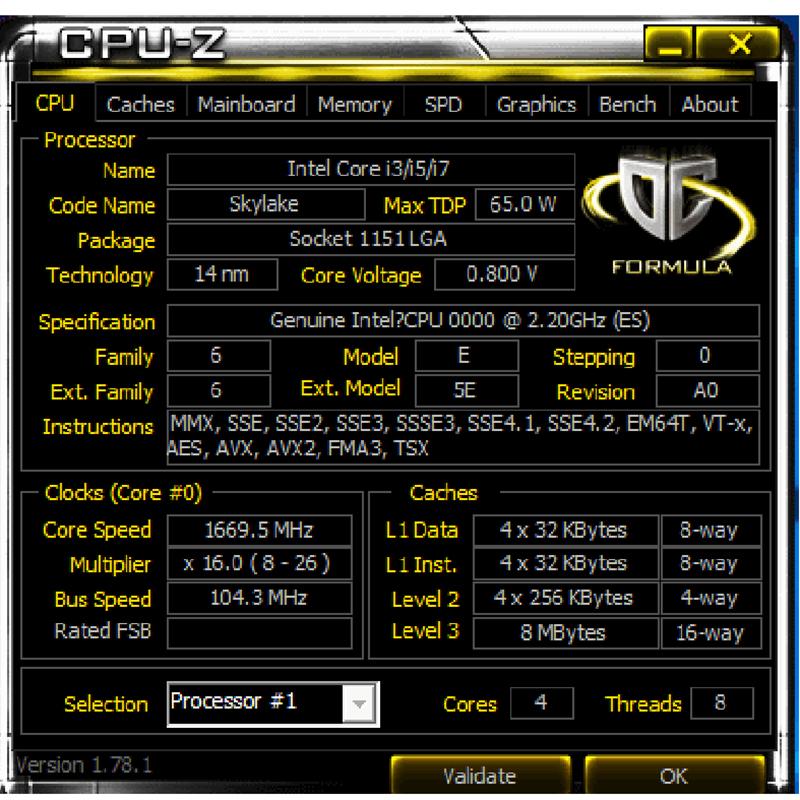 US $99 99 |Engineering version ES QH8F 2 2 MHZ AS QHQG QHQJ Intel Skylake  INTEL I7 6700K PROCESSOR I7 6700K CPU 2 2G CPU 95W DDR4/DDR3L-in CPUs from