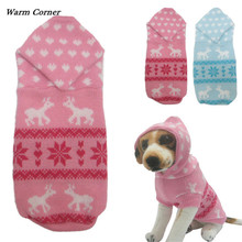 Pet Clothes High Quality New pet dog Sweater for autumn winter warm knitting crochet clothes for dog Supply Free Shipping M01