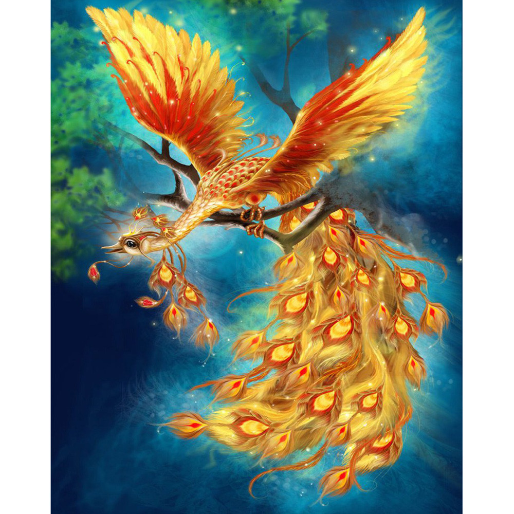 HOT 5D Embroidery Paintings Rhinestone Pasted DIY Diamond Painting Cross Stitch B Drop Shipping MAY25