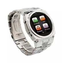 New Fashion TW818B Bluetooth Smartwatch Stainless Steel Smart Watch Phone Life Waterproof With Sim TF Card