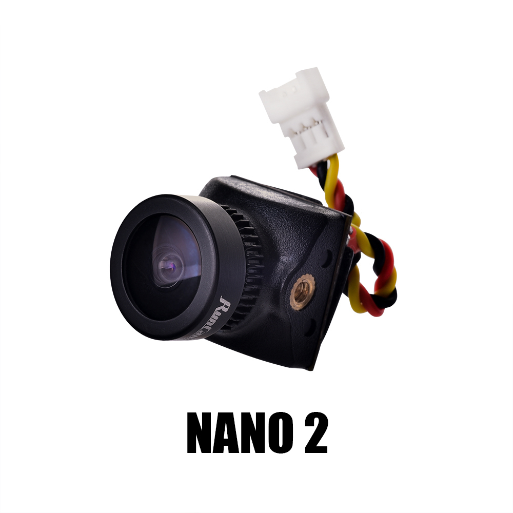 Runcam Nano 2 FPV Camera the Smallest Best FPV Racing Cam Gesture Control PAL/NTSC Switchable 14*14mm 3.2g image