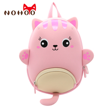 Toddler Girl Backpack 3D Cartoon Cat Pre School Backpack Kids Toddler Waterproof Bag for Pre Kindergarten Girls 1-4 Years toddler children school bag for boys kids waterproof backpack kindergarten girls 3d cartoon snail shape mochila for 2 5 years