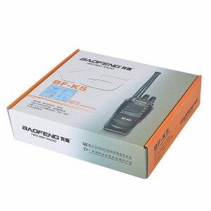 Image 5 - BaoFeng Walkie Talkie K5, 5 W, UHF, frecuencia de 400 470MHz, Radio portátil, transceptor Ham Radio Hf, Radio práctica bidireccional