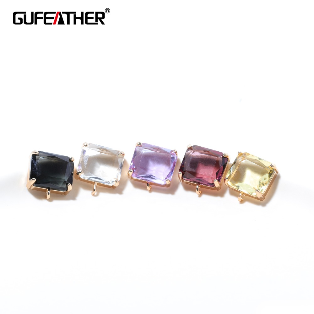 GUFEATHER M338,jewelry Accessories,jewelry Findings,charms,glass Accessories,hand Made,stud Earrings,jewelry Making,diy Earrings