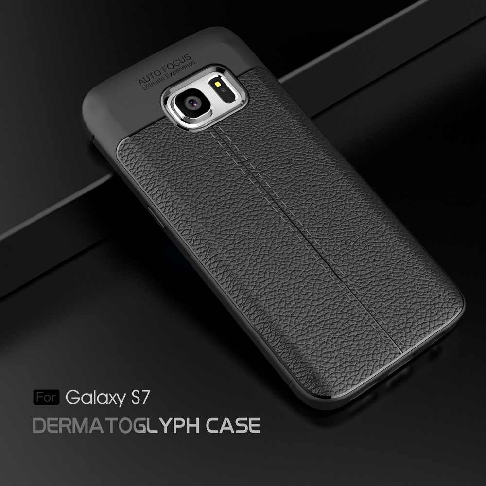 5.1For سامسونج غالاكسي S7 حقيبة لهاتف سامسونج غالاكسي S7 حافة S7edge المزدوج Sim Duos Sm G930 G930F G930FD G935F G935 كوكه غطاء حالة