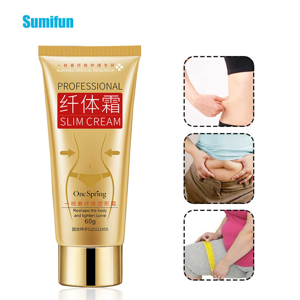 Sumifun 1pcs Professionele Slanke Crème Cellulite Fat Burner Gewichtsverlies Anti Cellulite Been Taille Effectief Zalf P1036