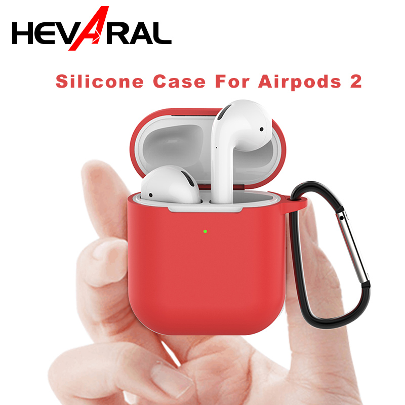 Silicone Case For <font><b>Airpods</b></font> 2 For i80 <font><b>tws</b></font> <font><b>i30</b></font> i60 i20 Protect Case TPU Water proof Cover image