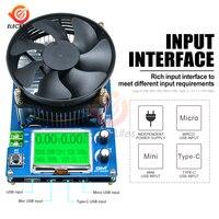 2,2 ''LCM 150W 10A регулируемый постоянный ток электронный нагрузочный аккумулятор тестер свинцово-кислота, литий-разрядный измеритель емкости те...