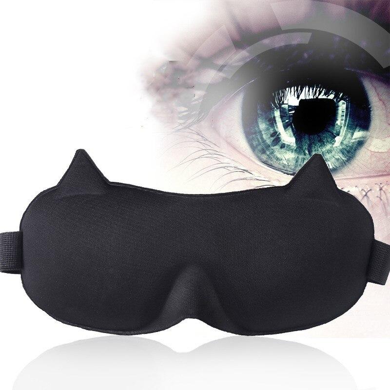 Persönliche Gesundheitspflege 1 Stücke 3d Schlaf Maske Natürliche Schlafen Augen Maske Eyeshade Abdeckung Schatten Eye Patch Weiche Tragbare Augenbinde Reise Augenklappe Für Schlaf Gesundheitsversorgung