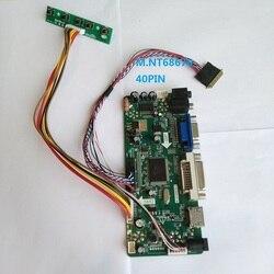 Zestaw do B156HW01 V4 AUO wyświetlacz LCD VGA DVI HDMI panel monitora kontroler pokładzie 40pin M. NT68676 1920X1080 15.6