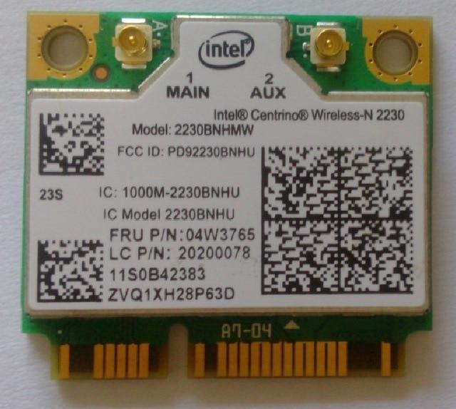 SSEA Novo Para Intel Wireless-N 2230 2230 2230BNHMW WI-FI Bluetooth 4.0 Metade mini pci-e card para ibm lenovo e330 e530 e430 e130 04w3765